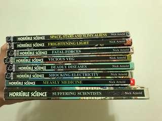 英文書 Horrible Science 系列
