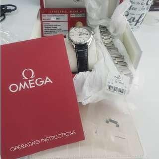 Omega Aqua Terra 150M 8500 CO-AXIAL 41.5 MM Silver dial