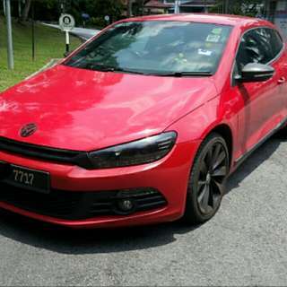VW Scirocco 2.0 TSi recond UK 2009