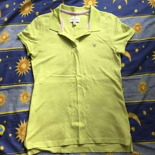 AE Apple green Polo Tee