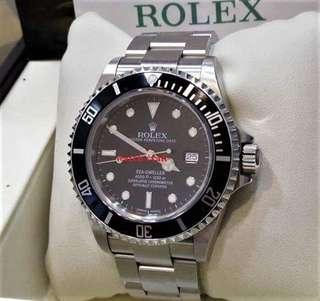 Used Excellent Condition Rolex 16600 Sea Dweller D serial Automatic 40mm With Certificate