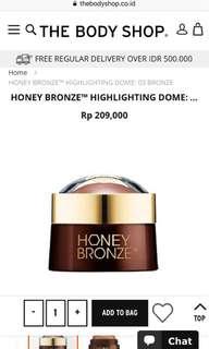 Honey Bronze Highliting Dome
