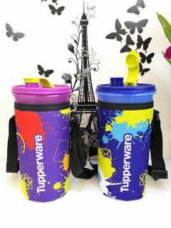 Botol Air Tupperware 1.5L With Pouch