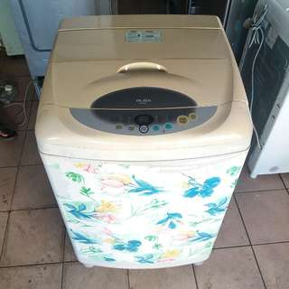 ELBA 9KG washing machine fully automatic One month warranty. Body conditions 80%ok Working conditions 100%ok You can call ro SMS/whatsup 01131838436