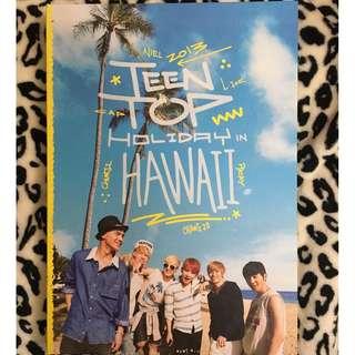 Teen Top Holiday in Hawaii 寫真書