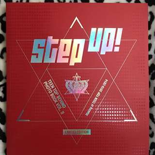Step UP Teen top Behind Photo Book Vol II (Limited Edition)