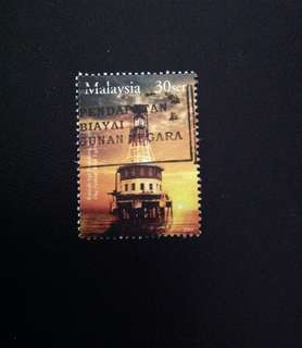 Malaysia 2004 Historical Buildings - Lighthouse 30c Used (0405)