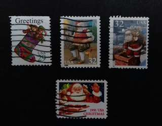 CHRISTMAS COLLECTION STAMPS #01