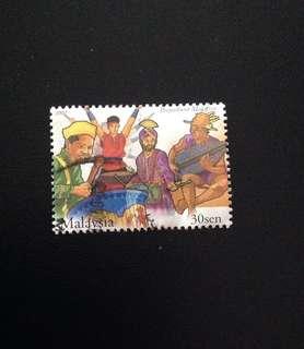 Malaysia 2002 Malaysia Unity 30c Used (0405)
