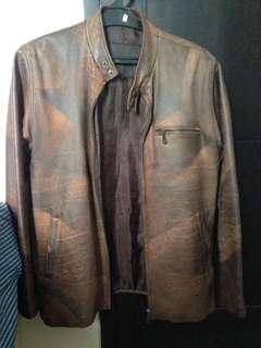 Jaket kulit asli /leather jacket