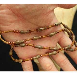 短木珠珠鏈/玉石項鍊/珠鏈/玉石/項鍊