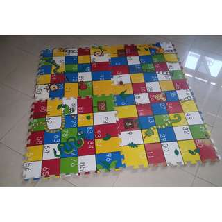 Puzzle Foam Snakes & Ladders [Connecting Floor Tiles]