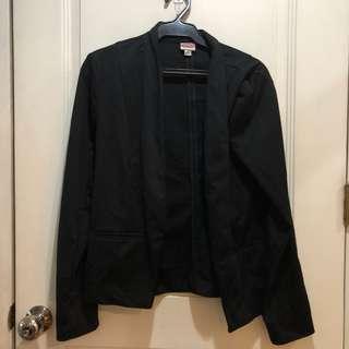 Details black blazer