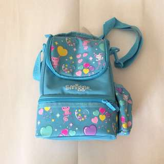 Smiggle Lunchbox (Blue)