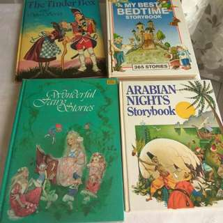 Hardcover Story Books Volumes