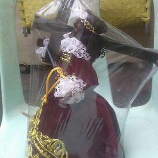wooden black nazarene