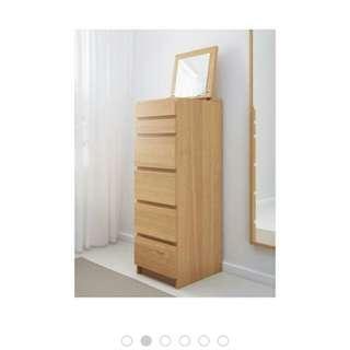 Ikea Malm dresser drawer