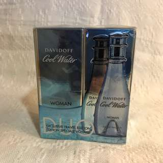 Cool water for woman Duo pack