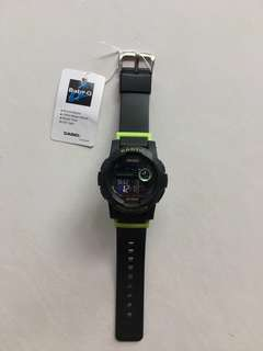 Baby g watch with white lights