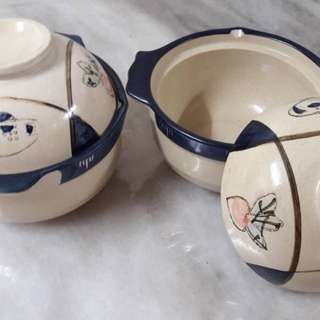 Soup Bowls with Cover