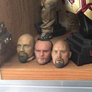 1/6 Figure heads ~ $30 each