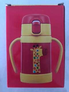 BN Tiger stainless steel straw bottle