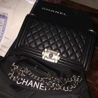Boy Chanel Handbag in Lambskin