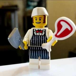 Lego Minifigure Series 6 Butcher