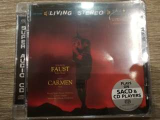 Gounod Faust and Bizet Carmen Suite - Covent Garden / Royal Opera House Orchestra / Alexander Gibson, Living Stereo Analogue Productions SACD