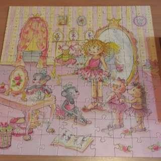 100 pcs puzzle