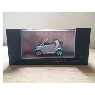 smart fortwo forfour 1/43 1:43 模型車 車仔 die cast model car