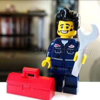 Lego Minifigure Series 6 Mechanic