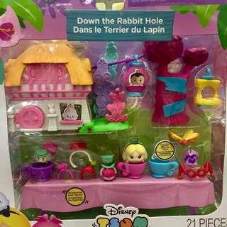 Disney Tsum Tsum Playset Down the Rabbit Hole