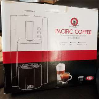ON SALE: Pacific Coffee  K-fee 全自動咖啡機  ** NEW **