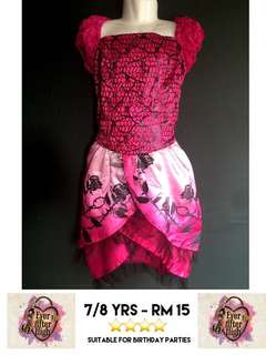 Costume Dress - 7/8 yrs - No nego!