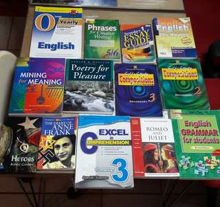 Assorted English Guide Books n Story Books