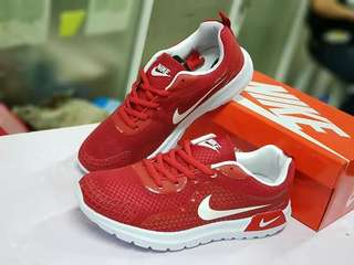 Nike shoes redwhite