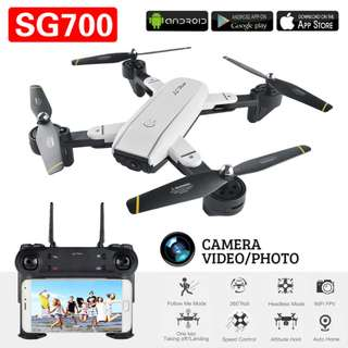SG700 FPV RC Quadcopter Fold RC Drone with WiFi Camera 2.4G 4CH 6-Axis RC Helicopter with Headless Mo