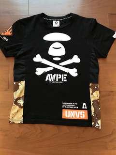 Aape - Black Tshirt -(L)