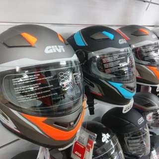Givi fullface helmet double visor