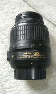 Nikon 18-55 mm F 3.5 len.