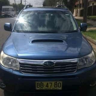 2008 MANUAL Subaru Forester XT Luxury