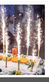 Sparkle Firework Special Birthday Candles