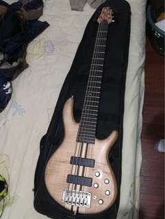 Cort A6 (6 String Bass Guitar)