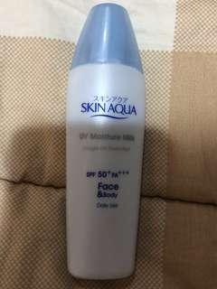 Skin aqua uv cream sunscreen spf 50