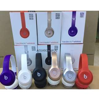 Solo 3 TM-037 Wireless Bluetooth On-Ear Headphone TM037 TM 037