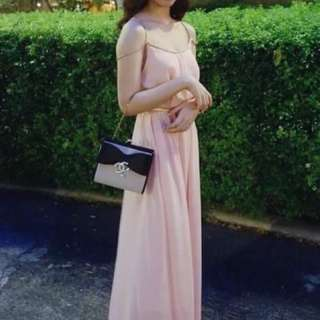 For rent long gown pastel