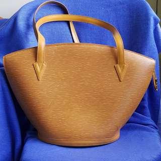 LV yellow epi leather