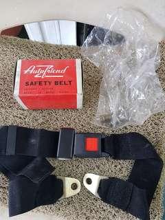 Safety belt rear centre passanger