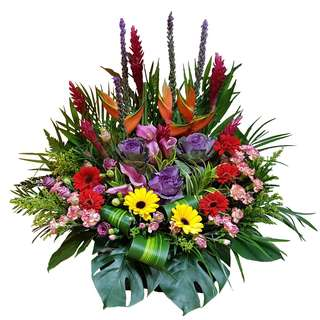 Garden Blossoms (Floral Table Arrangement)